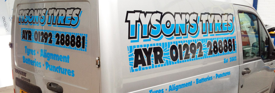 Vehicle Livery Ayr, Ayrshire